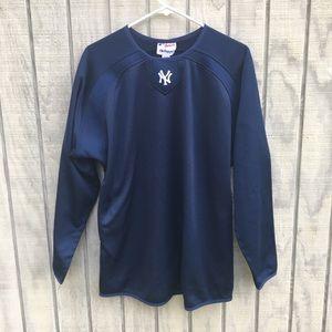 NY Yankees Majestic Thermal Pullover Sweatshirt